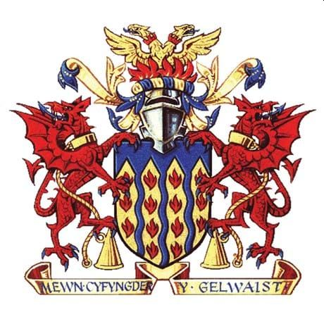 Arms of North Wales Fire and Rescue Service