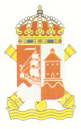 Coat of arms (crest) of the Stockholm Coastal Artillery Defence, Swedish Navy