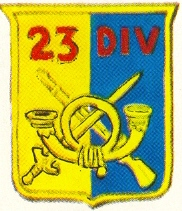 Coat of arms (crest) of the 23rd Division