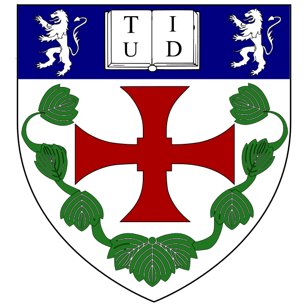 Coat of arms (crest) of Teikyo University of Japan in Durham