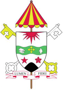 Arms (crest) of Basilica of Our Lady of Mount Carmel & Saint Anthony Parish, Youngstown