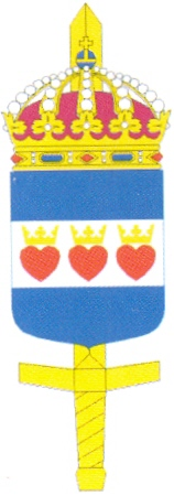 Coat of arms (crest) of the Defence Force Halmstad Schools, Sweden