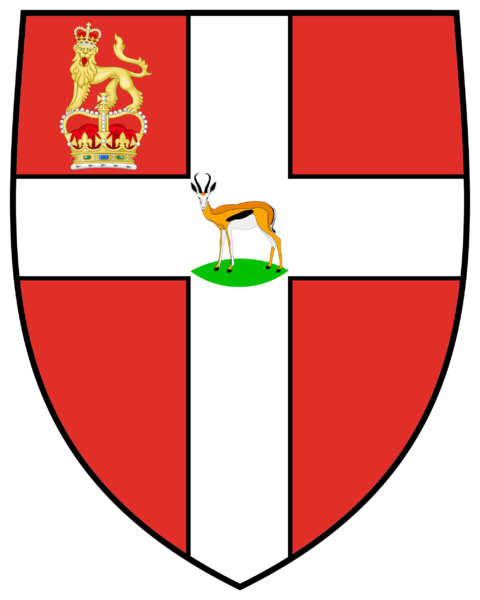 Arms of Venerable Order of the Hospital of St John of Jerusalem Priory of South Africa