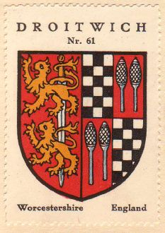 Arms (crest) of Droitwich
