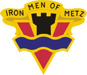 Arms of 95th Infantry Division Iron Men of Metz (now 95th Training Division), US Army