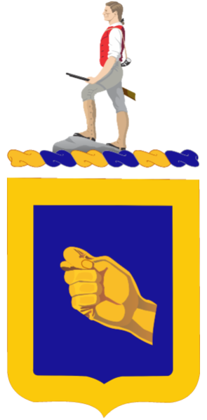 Arms of 324th Cavalry Regiment, US Army