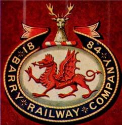Arms of Barry Railway