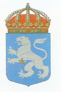 Coat of arms (crest) of the HMS Regulus, Swedish Navy