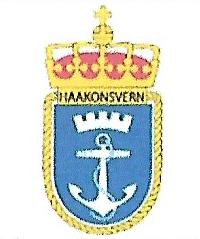 Coat of arms (crest) of the Haakonsvern Naval Station, Norwegian Navy