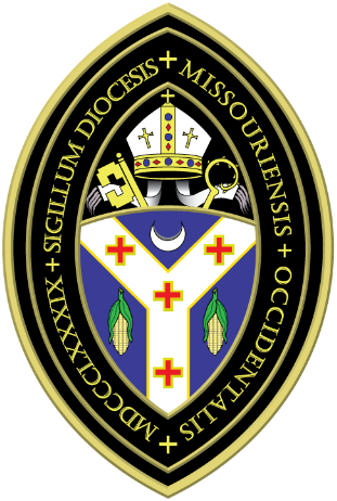 Arms (crest) of Diocese of West Missouri