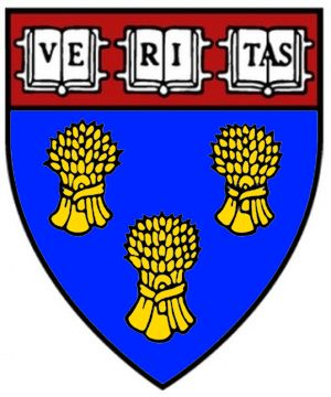 Arms (crest) of Harvard University