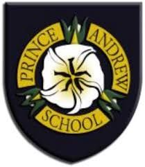 Coat of arms (crest) of Prince Andrew School, Saint Helena