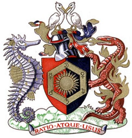 Arms of Royal Institute of Chemistry