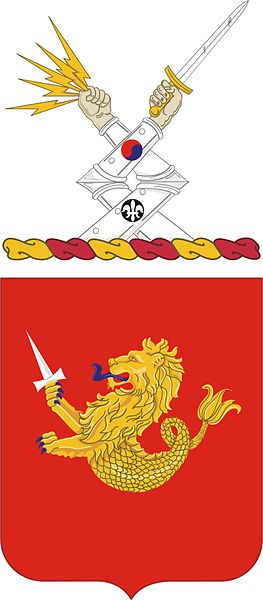 Arms of 25th Field Artillery Regiment, US Army