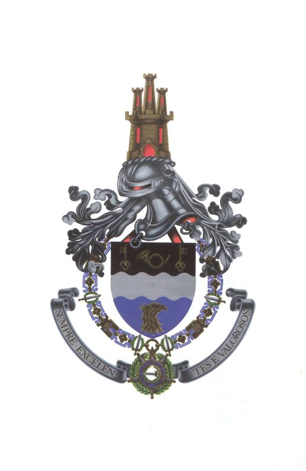 Coat of arms (crest) of the Infantry Regiment No 19, Portuguese Army