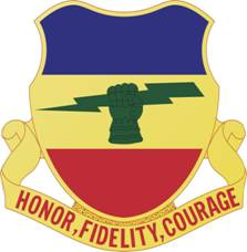 Arms of 73rd Cavalry Regiment (formerly 73rd Armor), US Army