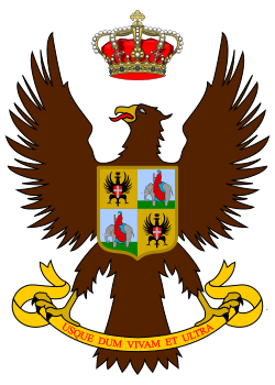 Arms of 22nd Cavalry Regiment Cavalleggeri di Catania, Italian Army