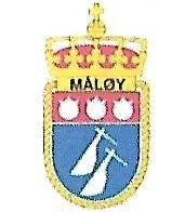 Coat of arms (crest) of the Mine Hunter KNM Måløy (M342), Norwegian Navy