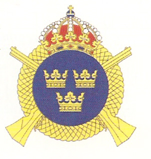 Coat of arms (crest) of the 3rd Infantry Regiment Life Regiment Grenadiers, Swedish Army