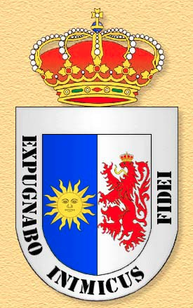 Coat of arms (crest) of the Infantry Regiment África No 53 (old), Spanish Army