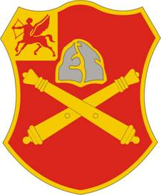 Arms of 10th Field Artillery Regiment, US Army