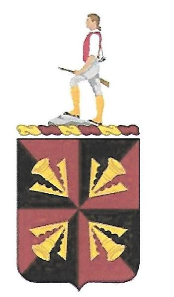 Arms of 484th Transportation Battalion, US Army