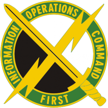 Arms of 1st Information Operations Command, US Army