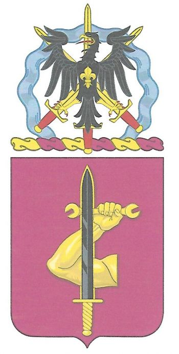 Arms of 209th Support Battalion, US Army