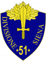 51st Infantry Division Siena, Italian Army.png