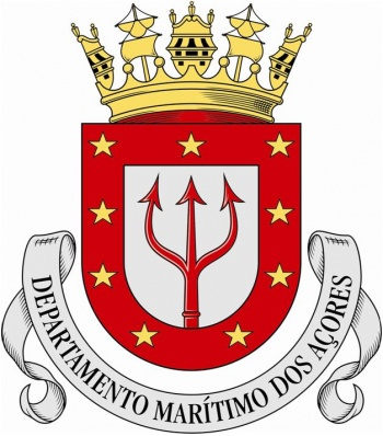 Coat of arms (crest) of the Azores Maritime Department, Portuguese Navy