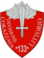 133rd Armoured Division Littorio, Italian Army.png