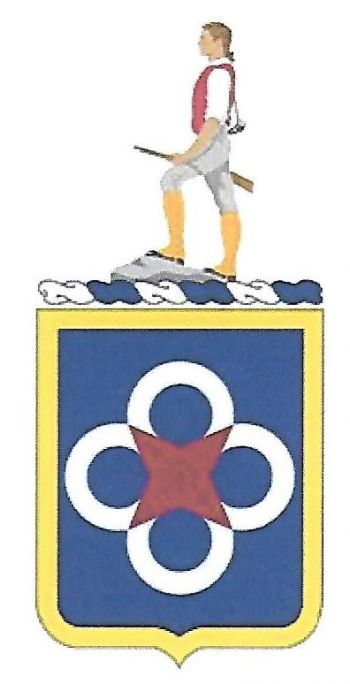 Arms of 302nd Transportation Battalion, US Army