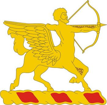 Arms of 6th Field Artillery Regiment, US Army