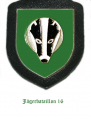 Jaeger Battalion 16, German Army.png