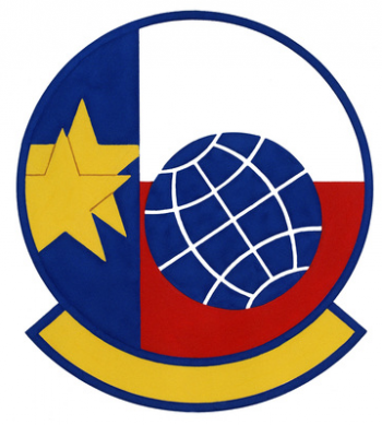 Coat of arms (crest) of the 181st Aerial Port Flight, Texas Air National Guard