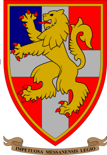 Coat of arms (crest) of the 94th Infantry Regiment Messina, Italian Army