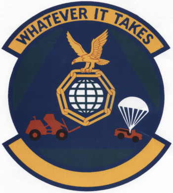 Coat of arms (crest) of the 7th Mobile Aerial Port Squadron, US Air Force