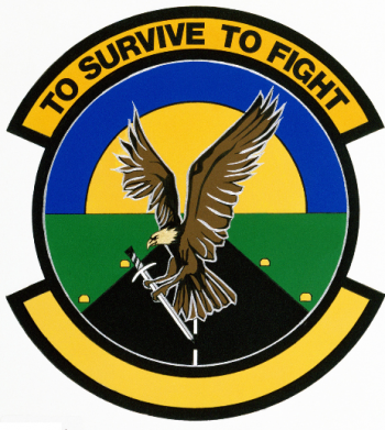 Coat of arms (crest) of the 366th Air Base Operability Squadron, US Air Force