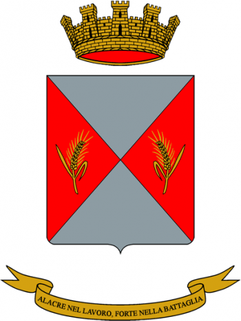 Coat of arms (crest) of the Cremona Logistics Battalion, Italian Army