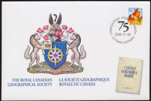 Arms (crest) of Canada (stamps)