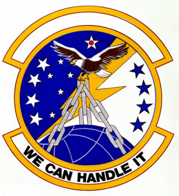 Coat of arms (crest) of the 94th Aerial Port Squadron, US Air Force