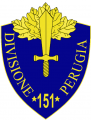 151st Infantry Division Perugia, Italian Army.png
