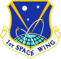 1st Space Wing, US Air Force.png