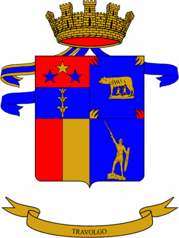 Coat of arms (crest) of the 20th Tank Battlion M.O. Pentinalli, Italian Army