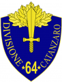 64th Infantry Division Catanzaro, Italian Army.png