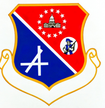 Coat of arms (crest) of the 1776th Air Base Wing, US Air Force