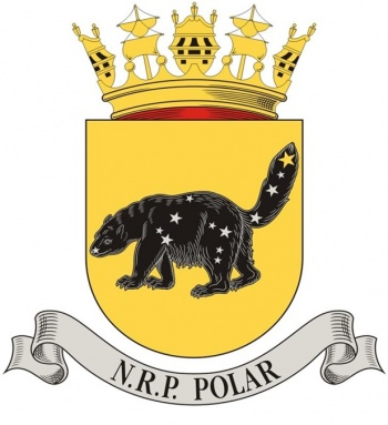 Coat of arms (crest) of the Sail Training Ship NRP Polar, Portuguese Navy