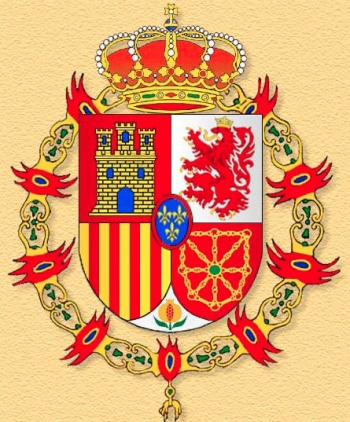 Coat of arms (crest) of the Infantry Regiment España No 18 (old), Spanish Army