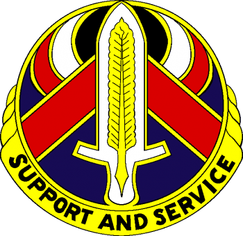 Arms of 328th Personnel Service Battalion, US Army