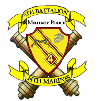 Coat of arms (crest) of the 5th Battalion, 14th Marines, USMC